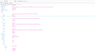Manifeste Twitter PWA Firefox