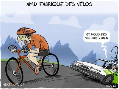 AMD commercialise… un vélo