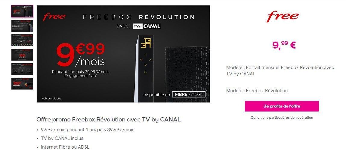 Freebox Révolution Veepee