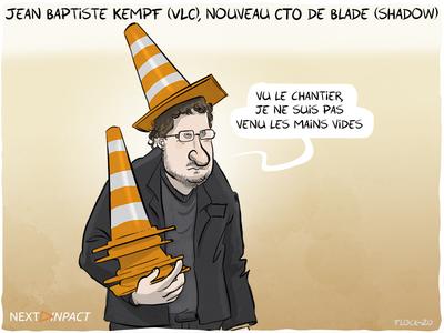 Jean Baptiste Kempf (VLC), nouveau CTO de Blade : « pourquoi je crois en Shadow »