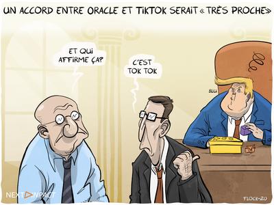 Un accord entre Oracle et TikTok serait « très proche », selon Donald Trump