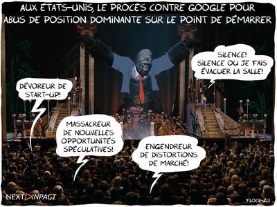 Aux États-Unis, le procès contre Google pour abus de position dominante sur le point de démarrer