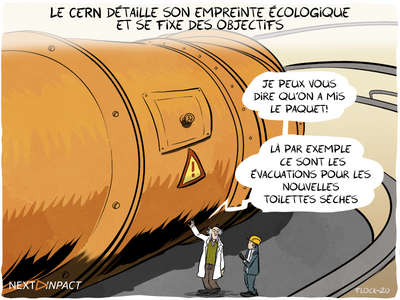 Le CERN détaille son empreinte écologique et se fixe des objectifs