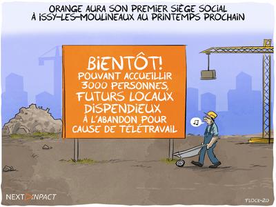 Orange aura son premier siège social à Issy-les-Moulineaux au printemps prochain