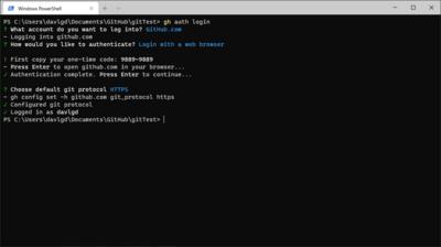 GitHub CLI Configuration
