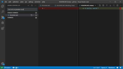 Git Commit Visual Studio Code
