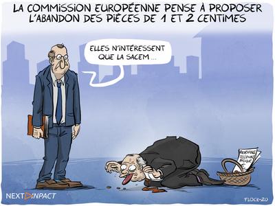 La Commission européenne pense à proposer l'abandon des pièces de 1 et 2 centimes