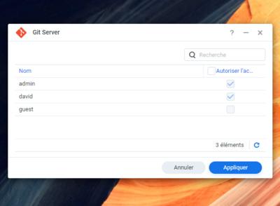 Git Server Synology