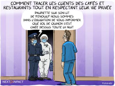 Comment tracer les clients des cafés et restaurants tout en respectant leur vie privée