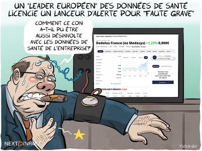 Un « leader européen » des données de santé licencie un lanceur d'alerte pour « faute grave »