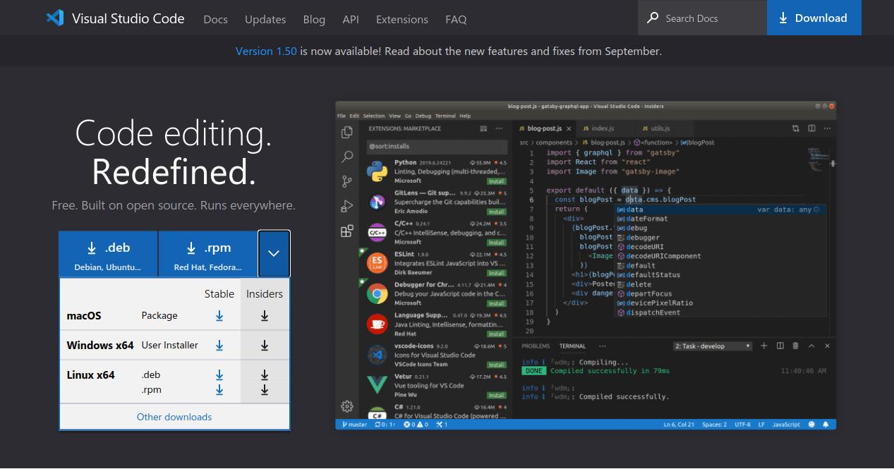 Visual Studio Code Site ARM Linux FAIL
