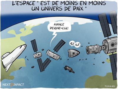 L'espace « est de moins en moins un univers de paix », son arsenalisation une question de temps