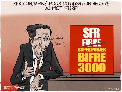 SFR condamnée en appel pour l'utilisation du mot « fibre », les détails de la décision