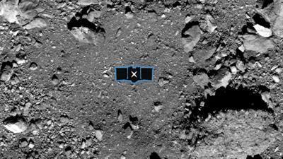 Site atterrissage Osiris-Rex