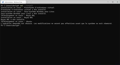 WSL Installation simplifiée