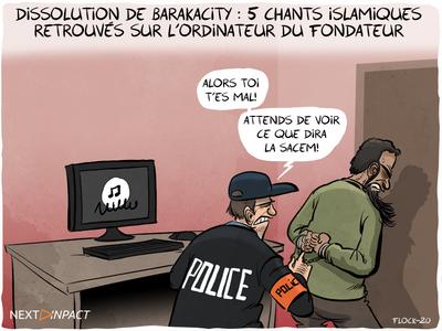 Gérald Darmanin annonce la dissolution de l'association BarakaCity
