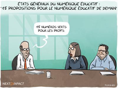 États généraux du numérique éducatif : « 15 propositions pour le numérique éducatif de demain »