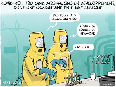 Covid-19 : 180 candidats-vaccins en développement, dont une quarantaine en phase clinique