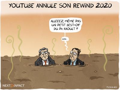 YouTube annule son Rewind 2020 YouTube annule son Rewind 2020