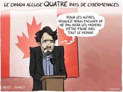 Le Canada accuse quatre pays de cybermenaces