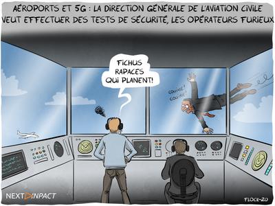 Aéroports et 5G : la Direction générale de l'aviation civile émet des réserves, les opérateurs furieux