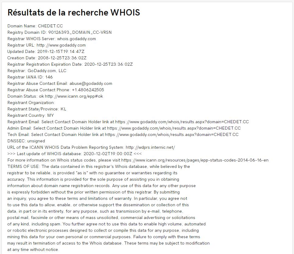 whois chedet.cc