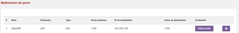 VPN Server DSM 6.2