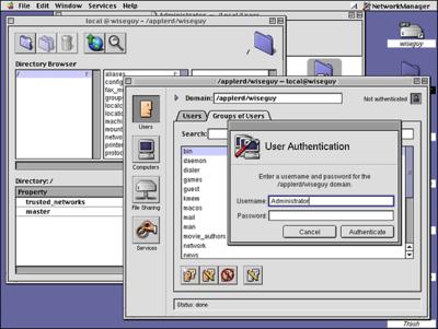 Mac OS X 1.0