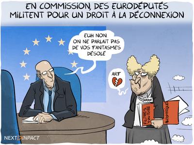 En commission, des eurodéputés militent pour un droit à la déconnexion