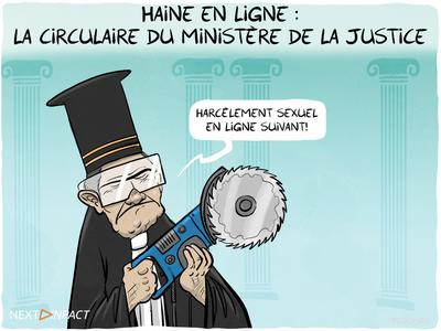 Haine en ligne : la circulaire du ministère de la Justice