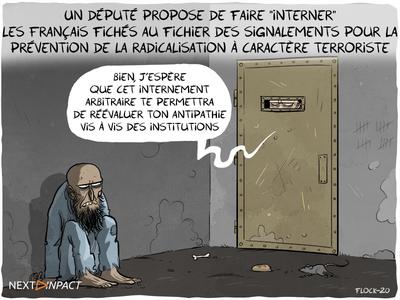 Un député propose de faire « interner » les Français fichés au FSPRT