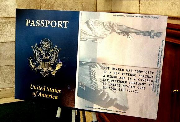 passport pédophile