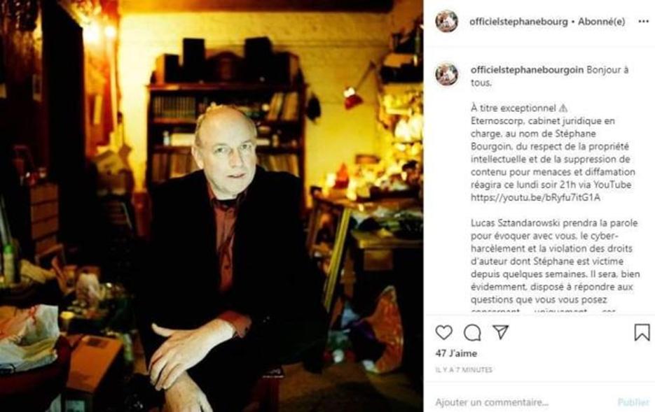 Instagram Stéphane Bourgoin