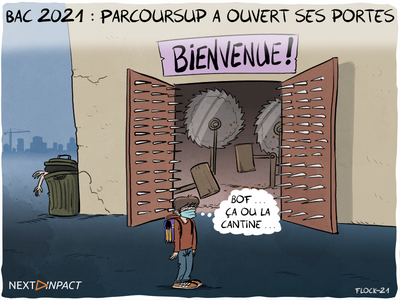 Bac 2021 : Parcoursup a ouvert ses portes