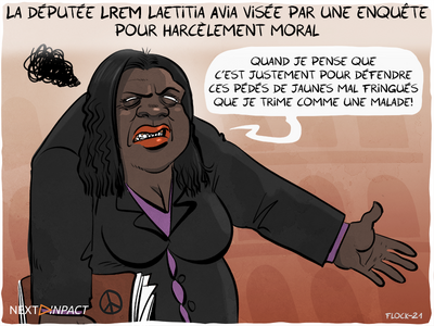 La députée LREM Laetitia Avia visée par une enquête pour harcèlement moral