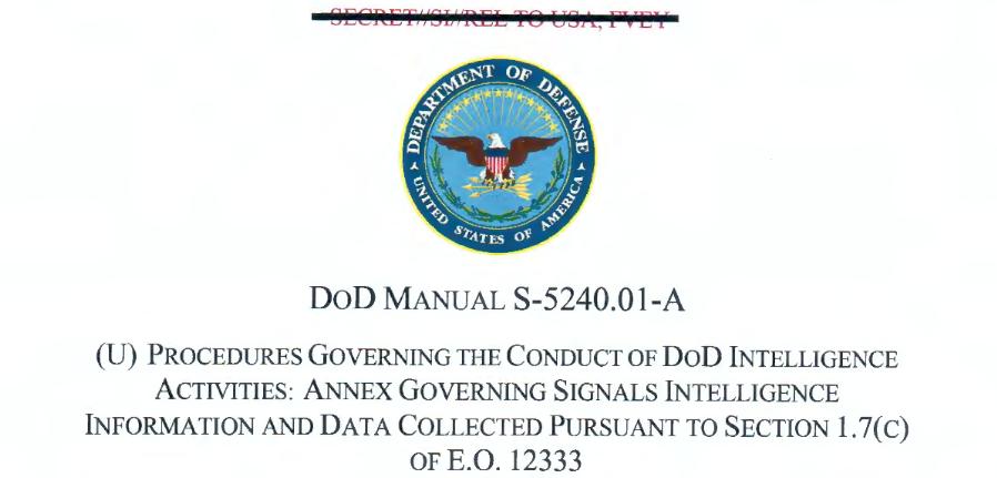 NSA SIGINT Annex