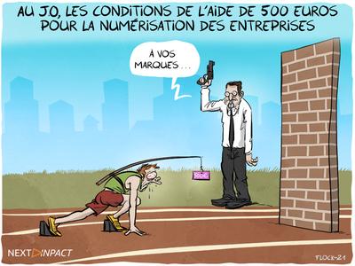 Au J.O., les conditions de l'aide de 500 euros pour la numérisation des entreprises