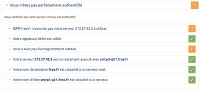 SPF DKIM ARC DMARC Free