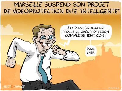 Marseille suspend son projet de vidéoprotection dite « intelligente »