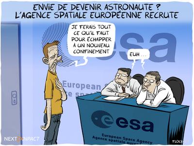 Envie de devenir astronaute ? L'Agence spatiale européenne recrute