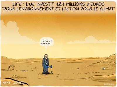 LIFE : L'UE investit 121 millions d'euros « pour l'environnement et l'action pour le climat »