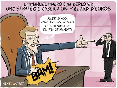 Emmanuel Macron va déployer une stratégie cyber à un milliard d'euros