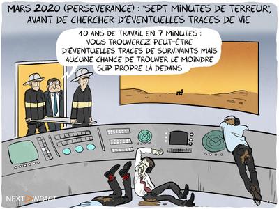 Mars 2020 (Perseverance) : « sept minutes de terreur », avant de chercher d'éventuelles traces de vie