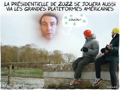La présidentielle de 2022 se jouera aussi via les grandes plateformes américaines