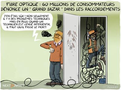 Fibre optique : 60 millions de consommateurs dénonce un « grand bazar » dans les raccordements