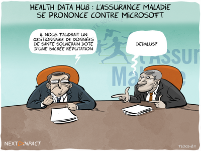Health Data Hub : l'Assurance maladie se prononce contre Microsoft