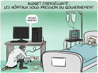 Cybersécurité : les hôpitaux sous pression du gouvernement