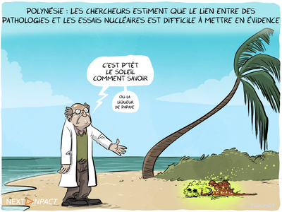 Essais nucléaires et santé : les conséquences en Polynésie française selon l'Inserm