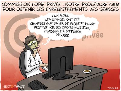 Commission Copie privée : notre procédure CADA pour obtenir les enregistrements des séances