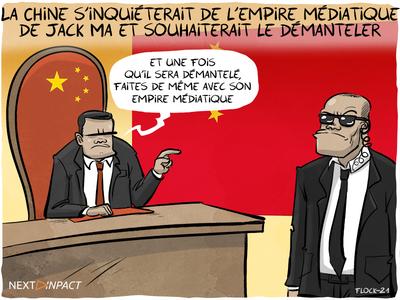 La Chine s'inquiéterait de l'empire médiatique de Jack Ma et souhaiterait le démanteler